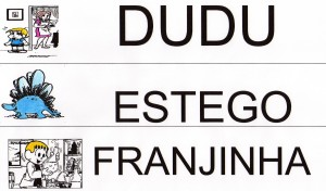 Alfabeto Turma da Mônica - DEF