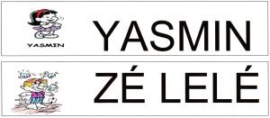 Alfabeto Turma da Mônica - YZ