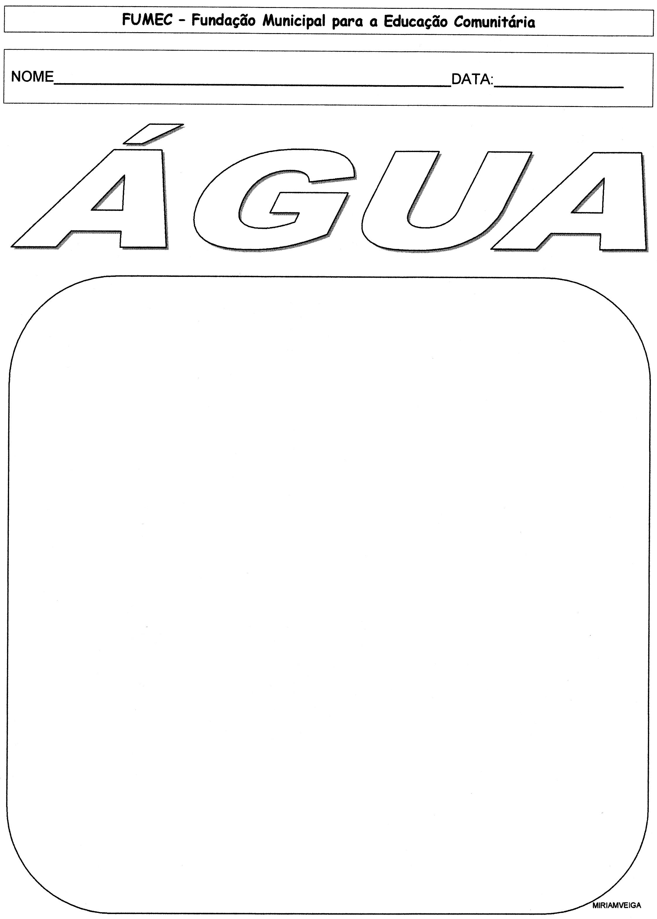 Super EJA - Projeto ÁGUA • Alfabetização Blog TL57
