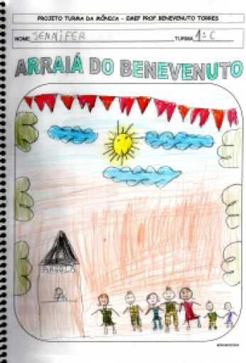 Turma da Mônica-Festa Junina-Ativ dos Alunos
