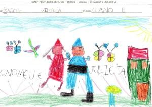 GNOMEU E JULIETA-ATIVIDADES DOS ALUNOS 2