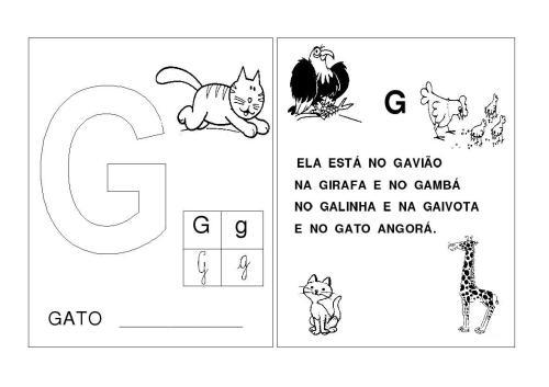 Alfabeto F-G-H-I