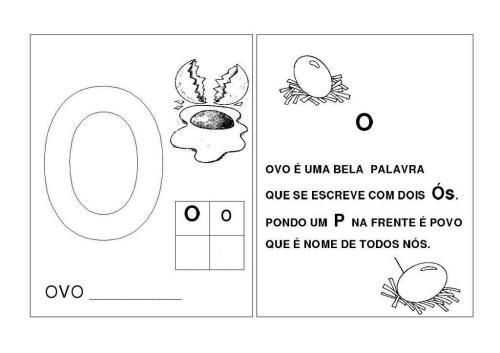 Alfabeto O-P-Q