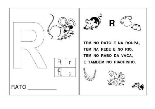Alfabeto R-S-T
