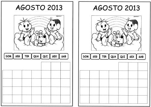 calendario agosto aluno