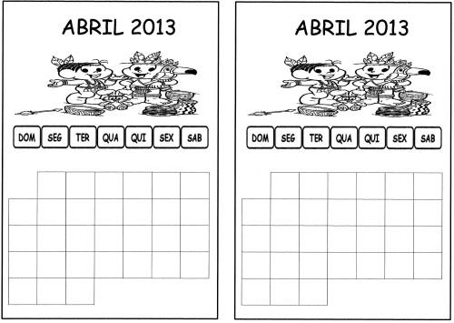 calendario de abril 13 aluno
