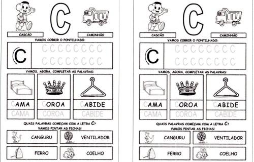Alfabeto da Turma da Mônica 2 - C