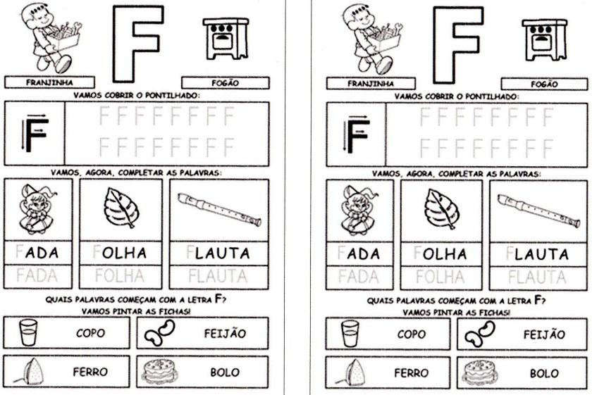 Alfabeto da Turma da Mônica para imprimir-2 - F
