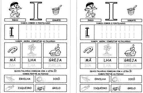 Alfabeto da Turma da Mônica 2 - I