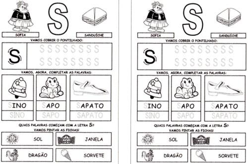 Alfabeto da Turma da Mônica 2 - S