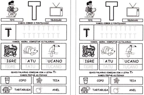 Alfabeto da Turma da Mônica 2 - T