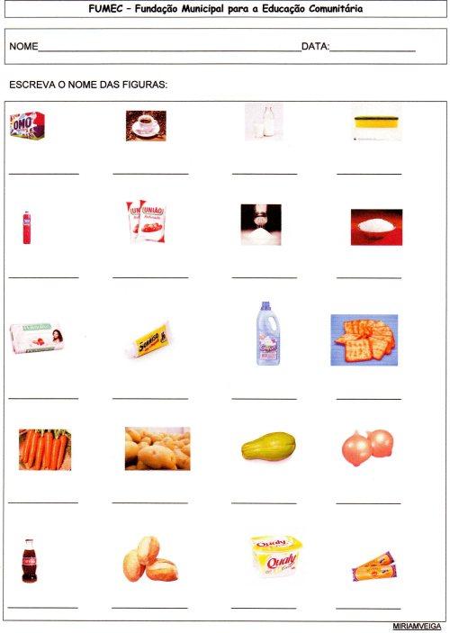 EJA-Projeto Supermercado - Resumo das atividades-Folha 2